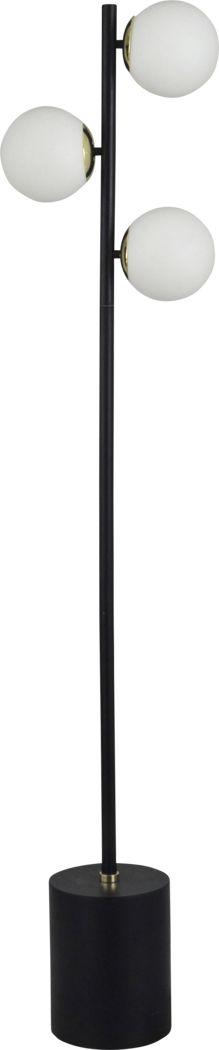 Gastons Black Floor Lamp