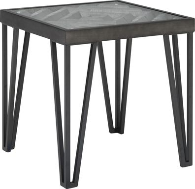 Gateland Gray End Table