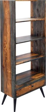 Gateside Brown Bookcase