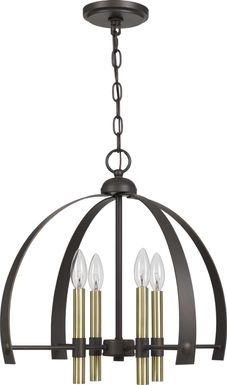 Gateworth Bronze Chandelier