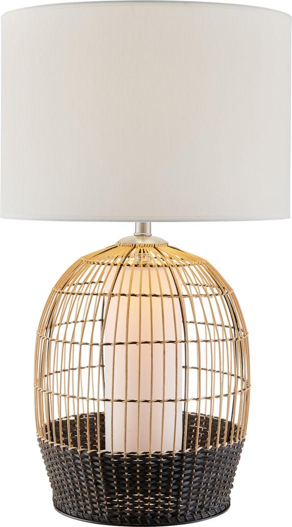 Gawaine Point Natural Lamp