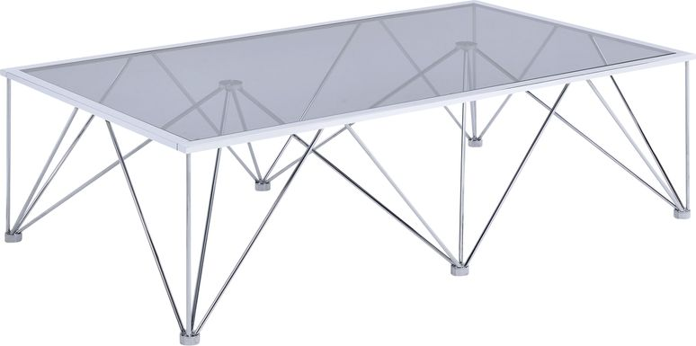 Gaylyn Chrome Cocktail Table