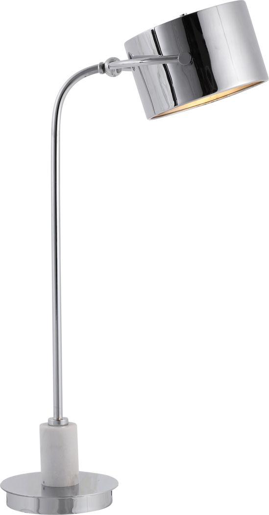 Gazelle Bay Nickel Lamp