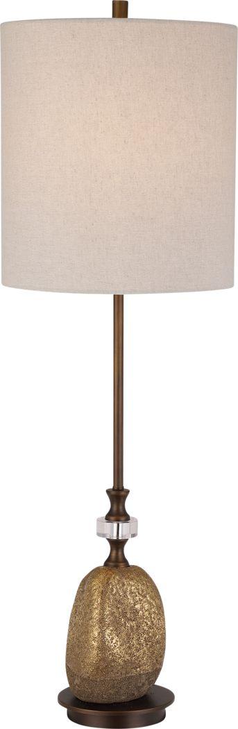 Geary Court Bronze Lamp