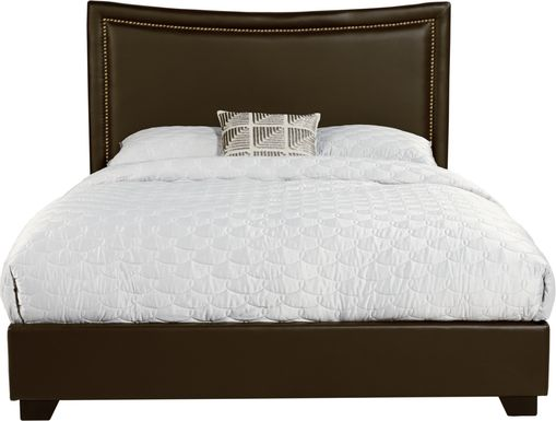 Genoa Brown 3 Pc King Bed