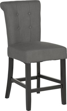 Georgiana Gray Counter Height Stool