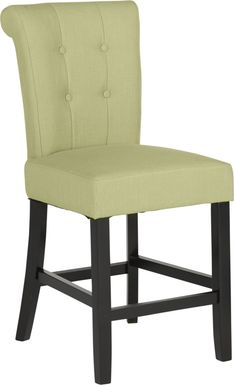 Georgiana Green Counter Height Stool
