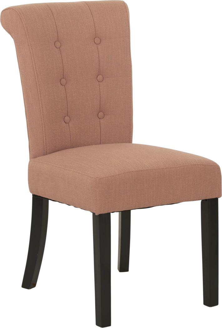 Georgiana Orange Side Chair