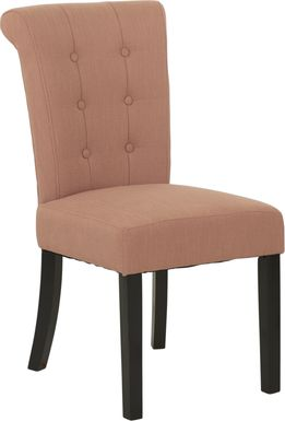 Georgiana Orange Side Chair