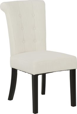 Georgiana White Side Chair