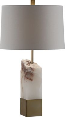 Giberstoun White Lamp