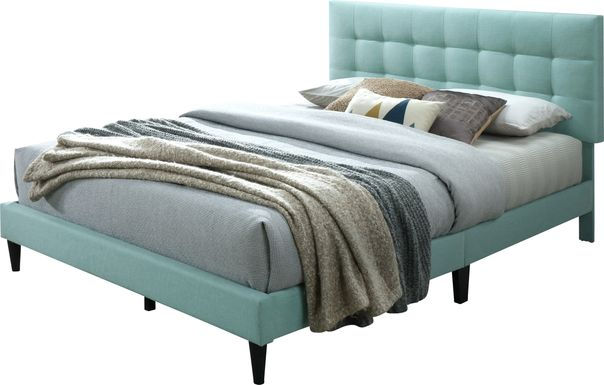 Gibney Green Queen Bed