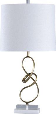 Gillespie Gold Lamp