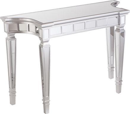 Gitre Silver Console Table
