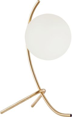 Glen Haven Place Gold Lamp
