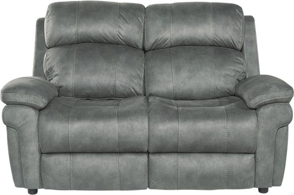 Glendale Place Charcoal Loveseat