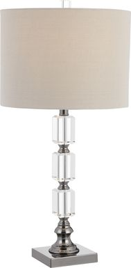 Glendon Way Clear Lamp