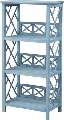 Glengarry Blue Bookcase