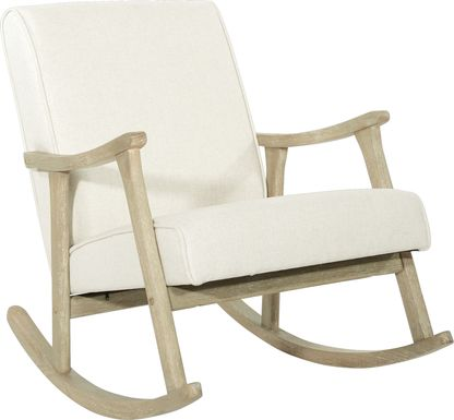 Glengyle White Light Wood Rocker
