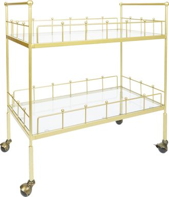 Glenleigh Gold Bar Cart