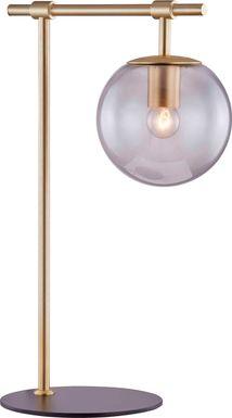 Glenridge View Champagne Table Lamp