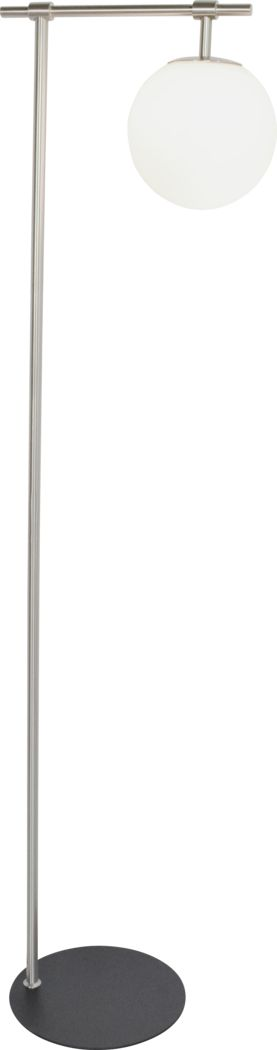 Glenridge View Silver Floor Lamp