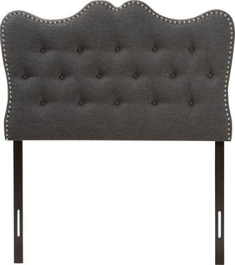 Glenvale Charcoal Queen Upholstered Headboard
