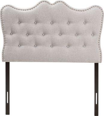 Glenvale Gray Twin Upholstered Headboard