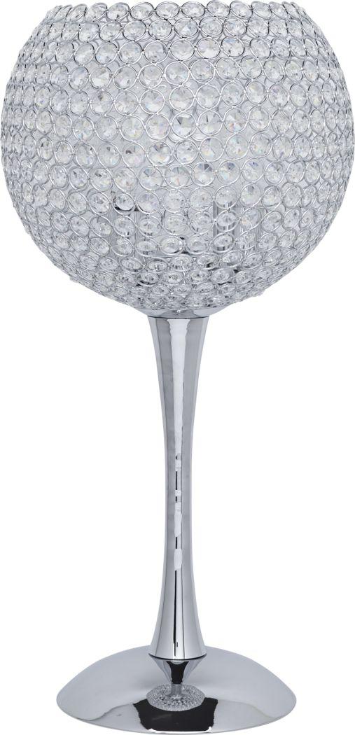 Goblet Silver Lamp