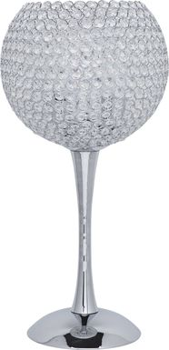 Goblet Silver Lamp