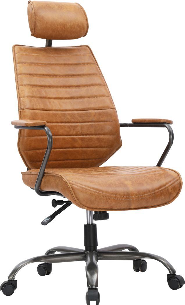 Goetze Orange Office Chair
