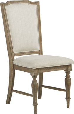 Golden Grove Cream Upholstered Side Chair