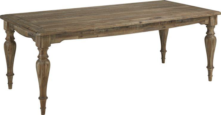Golden Grove Dark Brown Dining Table