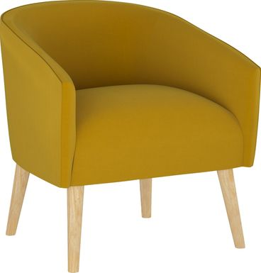 Golden Rust Dijon Accent Chair