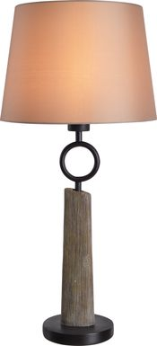 Goldsboro Brown Outdoor Table Lamp