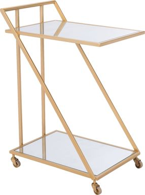 Gower Gold Bar Cart