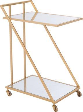 Gower Gold Bar Cart