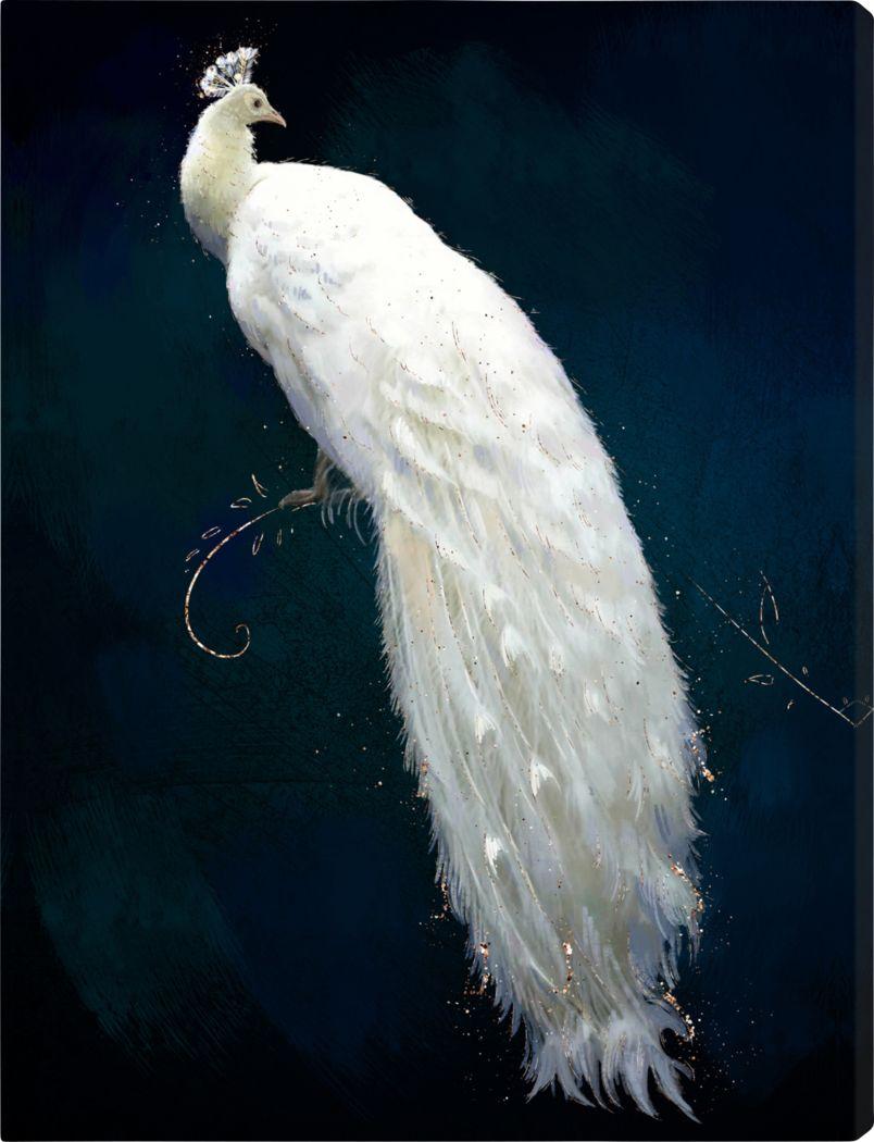 Graceful Beauty White Artwork