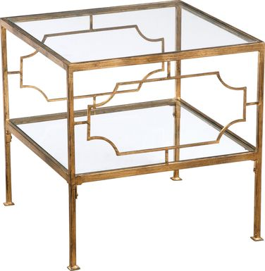 Gracemont Gold Accent Table