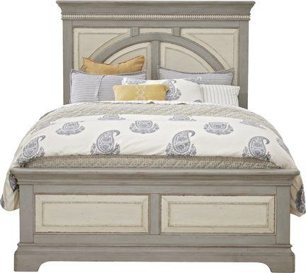 Granbury Gray 3 Pc Queen Panel Bed