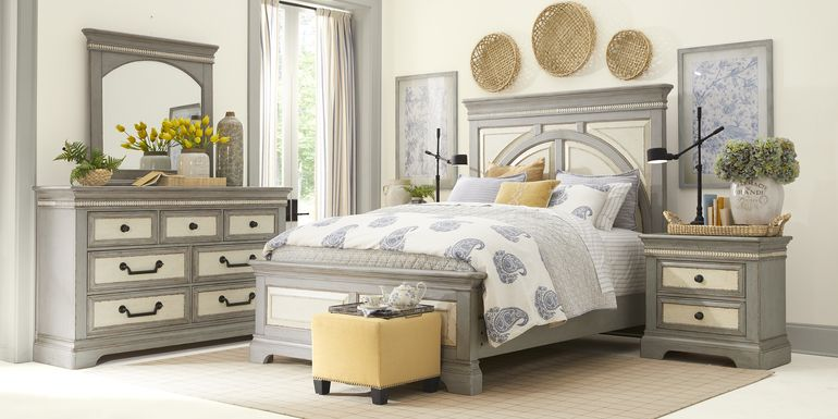 Granbury Gray 5 Pc King Panel Bedroom