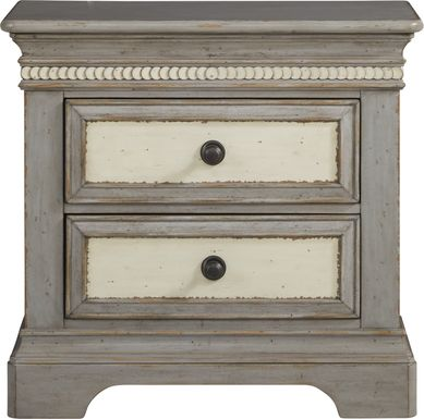 Granbury Gray Nightstand