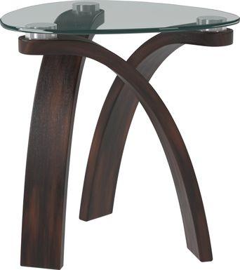 Grant City Merlot End Table