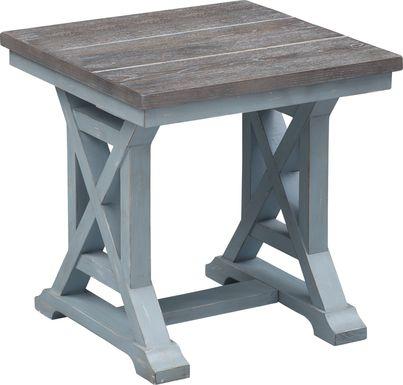 Grantland Blue End Table