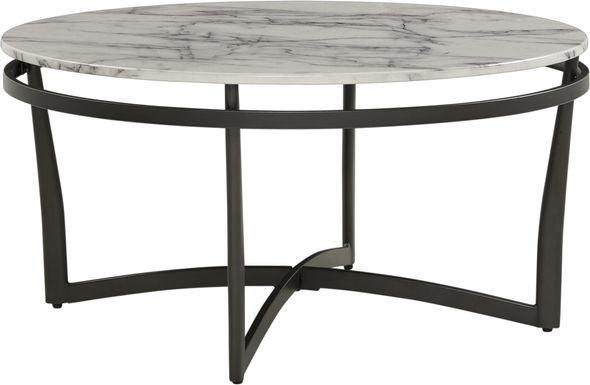 Grasonville Black Cocktail Table