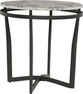 Grasonville Black End Table