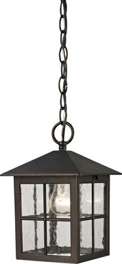 Grecade Brown Outdoor Chandelier