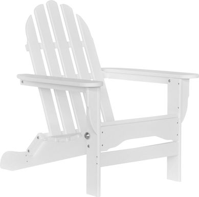 Greenport Traditional White Outdoor Adirondack Chair