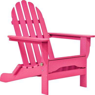 Greenport Vibrant Raspberry Outdoor Adirondack Chair
