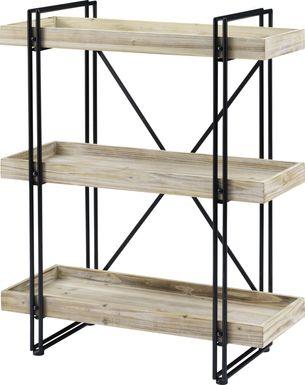 Greenwyck White Bookcase